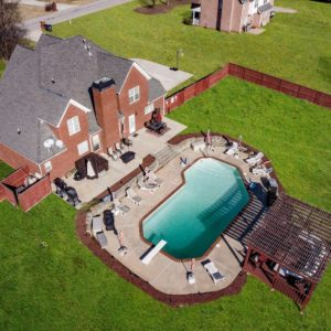 airbnb atlanta mansion with pool-Option 1-Drone view