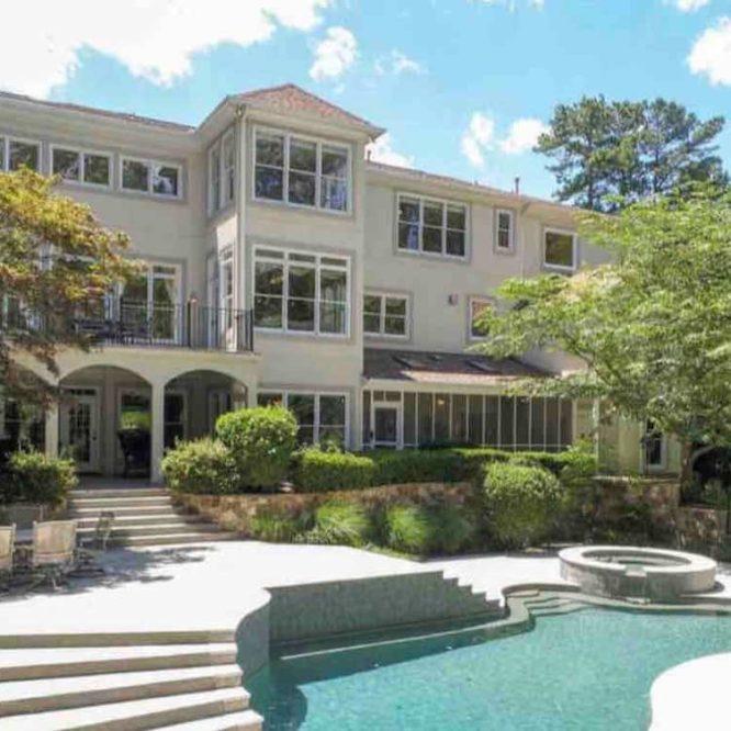 airbnb atlanta mansion with pool-Option 4-Mansion Facade