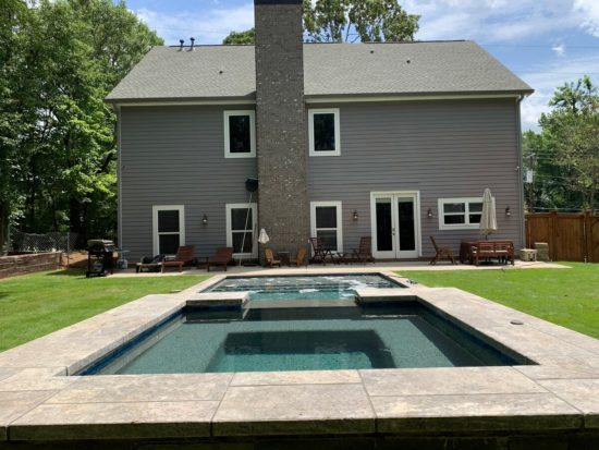 airbnb with private pool atlanta-Option 1-Pool
