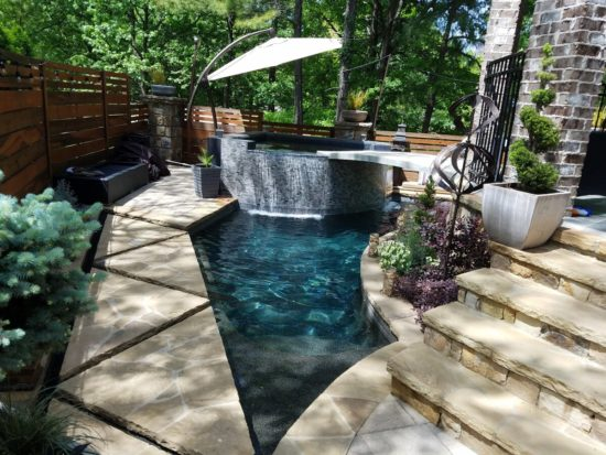 airbnb with private pool atlanta-Option 2-Pool