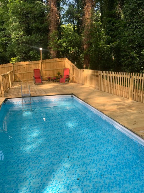 airbnb with private pool atlanta-Option 3-Pool