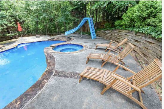 airbnb with private pool atlanta-Option 4-Pool